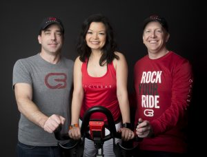 CycleBar Flower Mound owners (courtesy: Beau Bumpas)