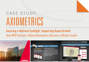 Case Study: Axiometrics. How MPD Ventures Helped Axiometrics Become A Market Leader