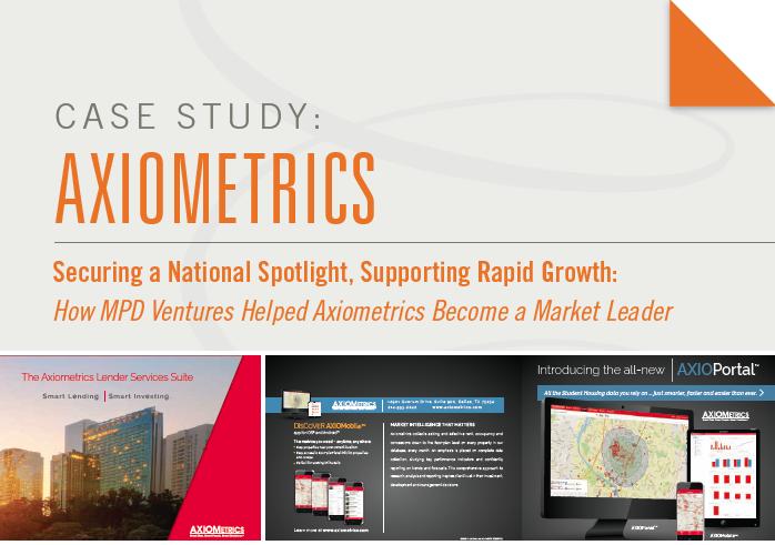 Case Study: Axiometrics - How MPD Ventures Helped Axiometrics Become A Market Leader