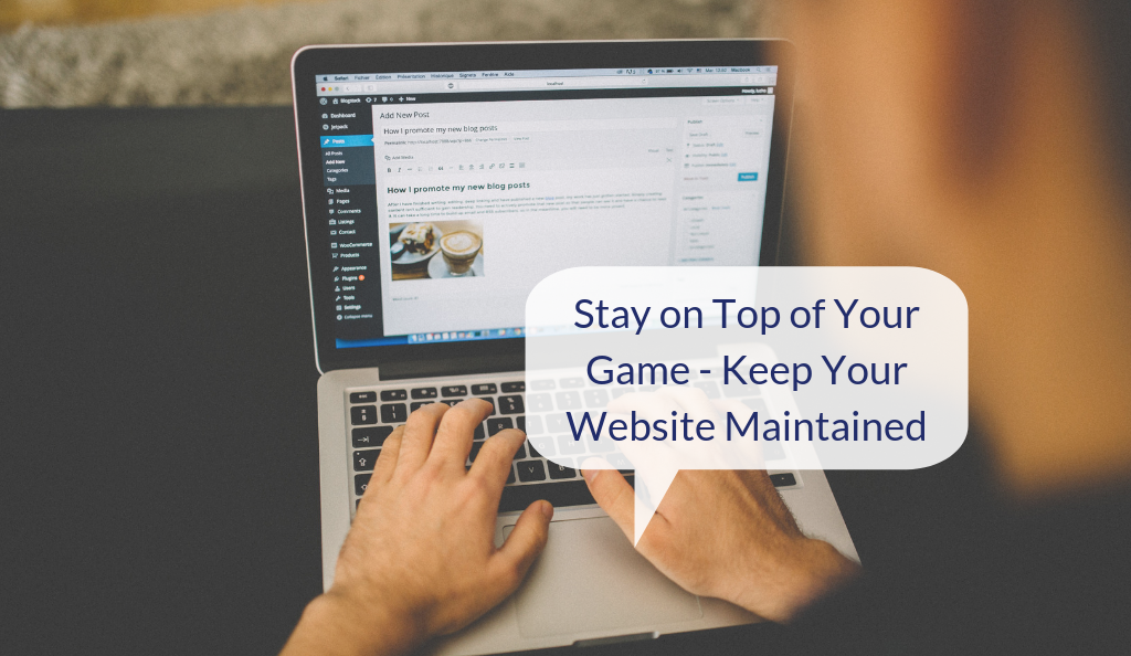 Maintain Your Website